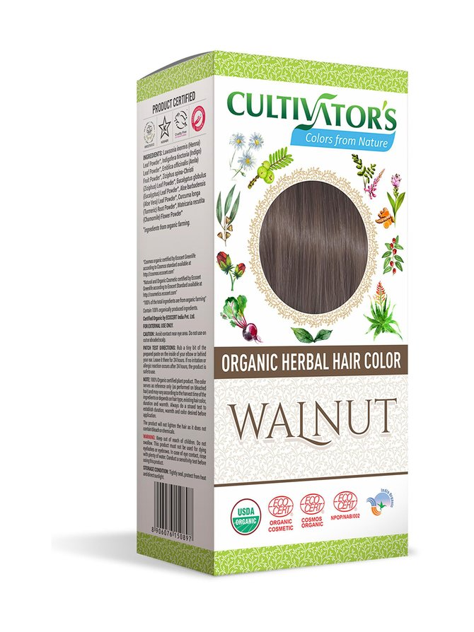 Organic Herbal Hair Color -kasviväri 100 g