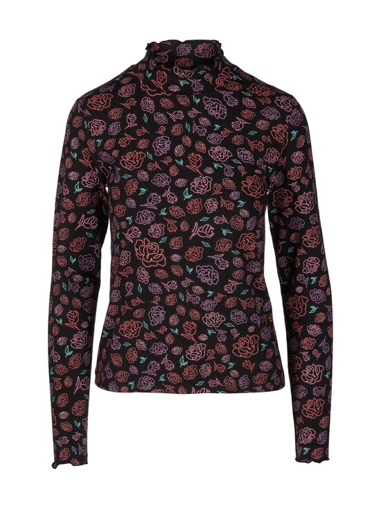 Wrangler - Longsleeve High Neck -pusero - NEON FLORAL | Stockmann - photo 1