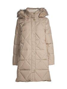 Lauren Ralph Lauren - Quilted Hooded Down Coat -untuvatakki - 32ZL BEIGE | Stockmann