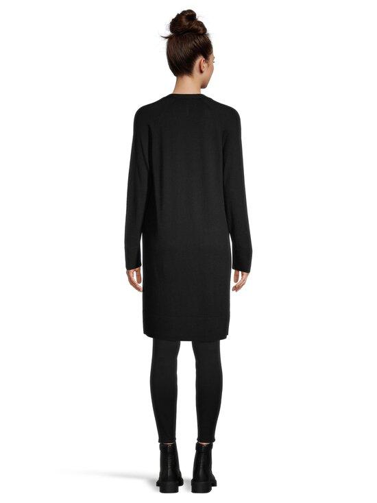 cut & pret - AIRY long cardigan -villaneuletakki - BLACK SOLID | Stockmann - photo 3