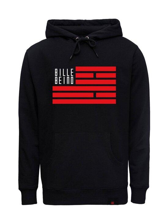 BILLEBEINO - Flag Hoodie -huppari - 99 BLACK   Stockmann - photo 1