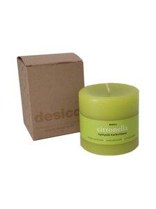 Desico - Citronella tuoksukynttilä/hyttyskarkote - CITRONELLA | Stockmann