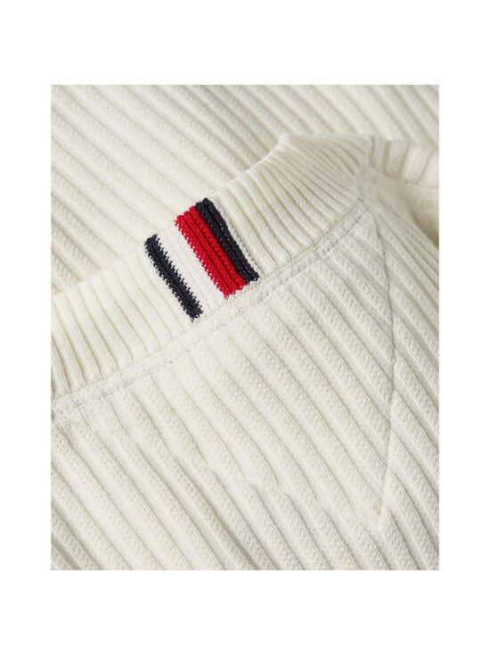 Tommy Hilfiger - Wavy Flag Graphic Rib Sweater -neule - YBI IVORY | Stockmann - photo 5