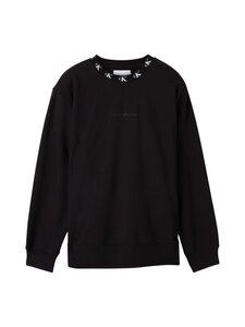 Calvin Klein Jeans Plus - Plus CK Logo Trim Neck -collegepaita - BEH CK BLACK   Stockmann