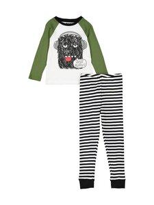 Bogi - Dassu-pyjama - BLACK/WHITE/GREEN | Stockmann