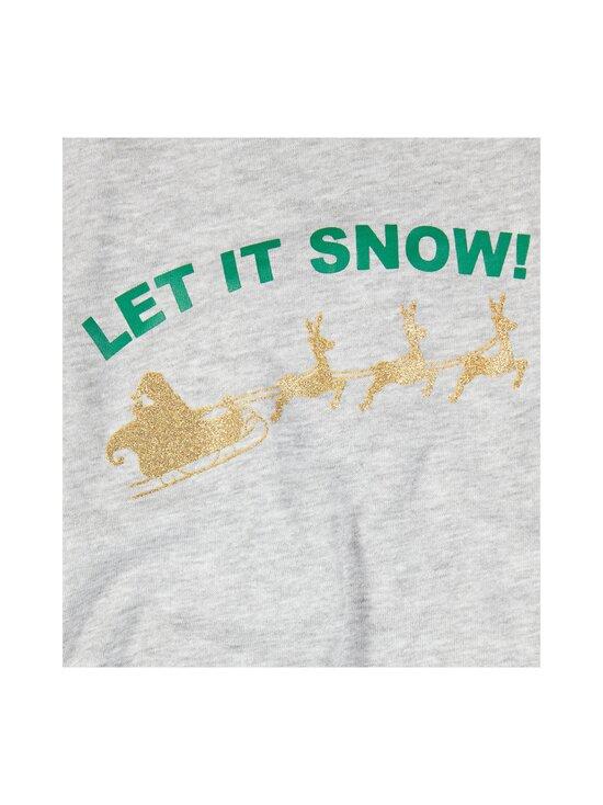 KIDS ONLY - KonChristmas-collegepaita - LIGHT GREY MELANGE PRINT:LET IT SNOW | Stockmann - photo 3