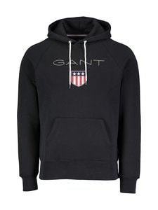 GANT - Shield Sweat -huppari - 5 BLACK | Stockmann