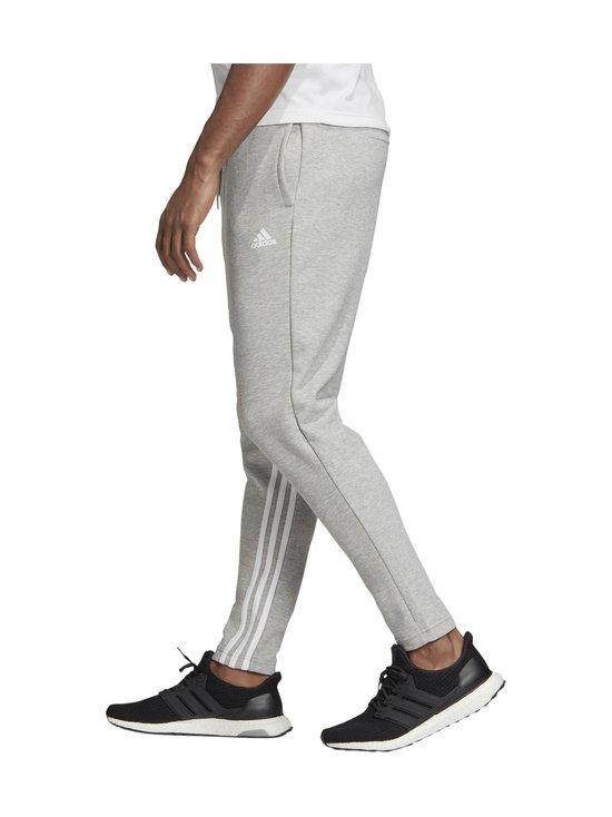 adidas Performance - MH 3-Stripes -collegehousut - MGREYH/WHI MGREYH/WHITE   Stockmann - photo 5
