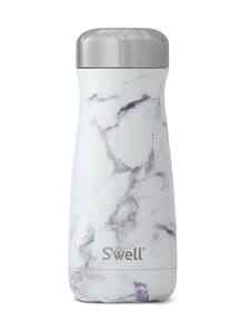 S'well - Thermo Traveller -juomapullo 470 ml - WHITE MARBLE | Stockmann