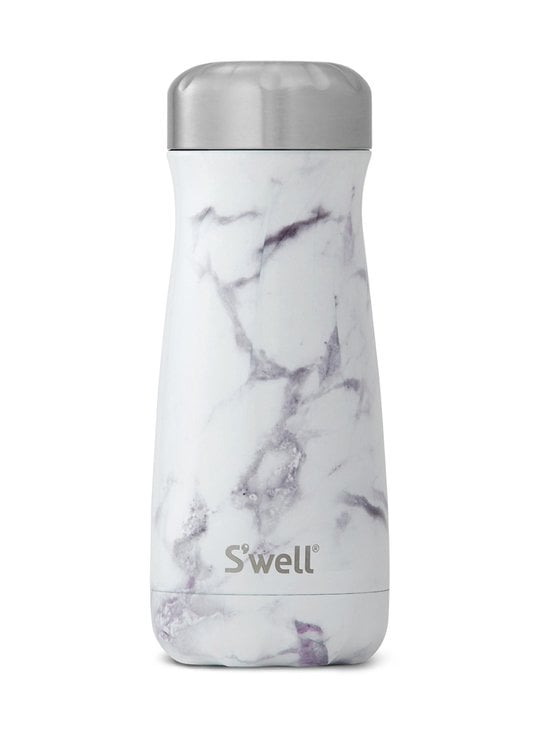 S'well - Thermo Traveller -juomapullo 470 ml - WHITE MARBLE   Stockmann - photo 1