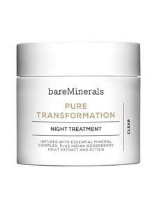 Bare Minerals - Pure Transformation Night Treatment -yöhoito 4,2 g | Stockmann