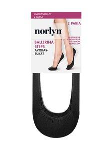 Norlyn - Ballerina Steps -avokassukat 2-pack - 1210 BLACK | Stockmann