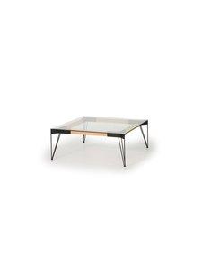 Muurame - Viiva-sohvapöytä - GLASS BLACK | Stockmann