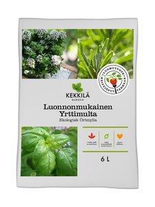 Kekkilä - Luonnonmukainen yrttimulta 6 l - MUSTA | Stockmann