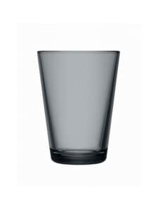 Iittala - Kartio-juomalasi 40 cl, 2 kpl - GREY | Stockmann