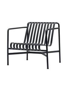 HAY - Palissade Lounge Chair Low -lepotuoli 73 x 81 cm - ANTHRACITE (HIILENHARMAA)   Stockmann