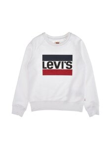 Levi's Kids - LVG Key Item Logo Crew -collegepaita - 001 WHITE | Stockmann