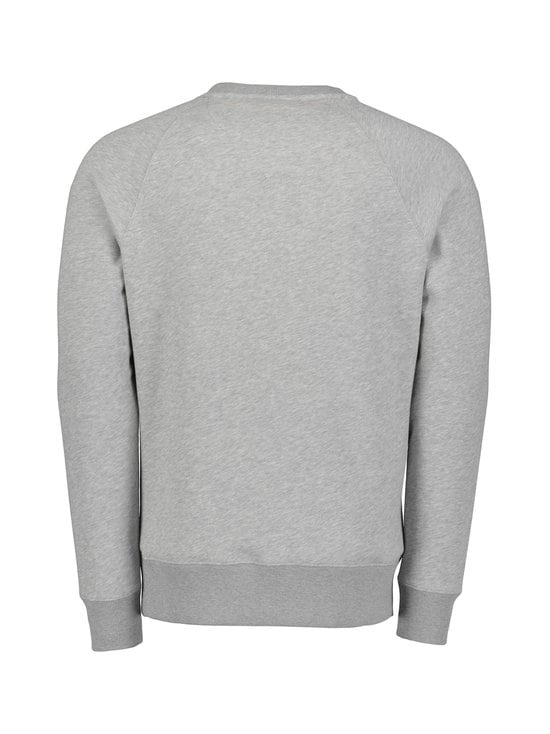 GANT - Lock-Up C-Neck Sweat -collegepaita - GREY MELANGE | Stockmann - photo 2