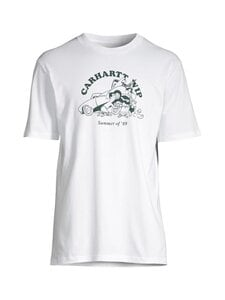 Carhartt WIP - S/S Flat Tire T-Shirt -paita - WHITE / TREEHOUSE /---   Stockmann