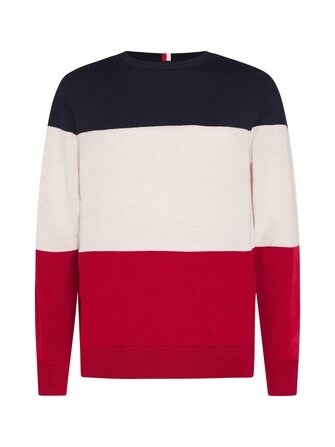 Color Block college shirt - Tommy Hilfiger