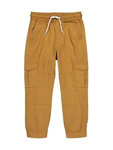 Bogi - MICK pull-up pants -housut - TAN BROWN | Stockmann