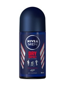 NIVEA MEN - Nivea Men Dry Impact Roll-on -antiperspirantti 50 ml | Stockmann