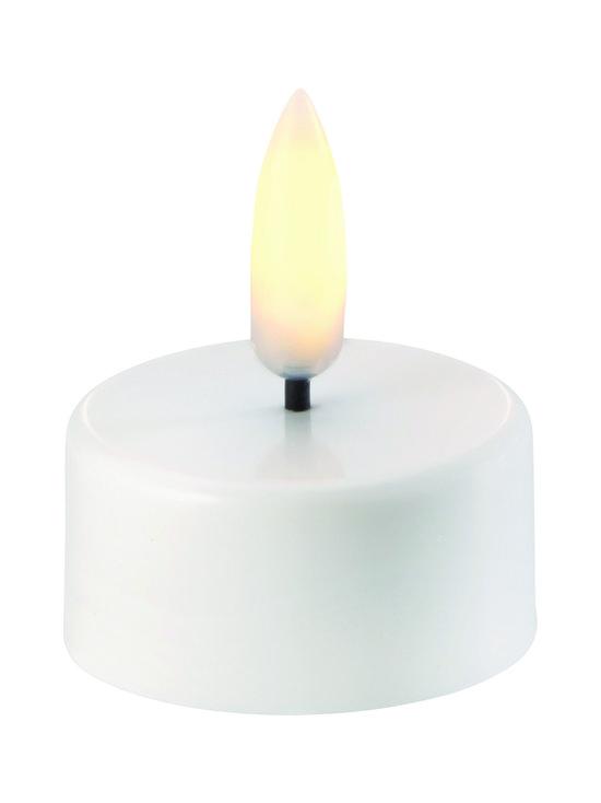 UYUNI - Tea-Light LED -tuikkukynttilä 2 x 4 cm - NORDIC WHITE | Stockmann - photo 1