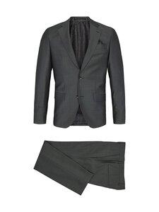 SAND Copenhagen - Star Napoli Craig Normal Suit -puku - 490 DARK GREEN   Stockmann