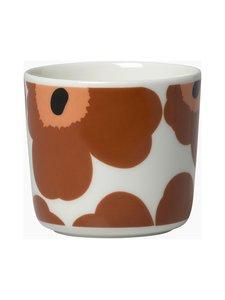 Marimekko - Oiva/Unikko-kahvikuppi 2 dl, 2 kpl - 189 WHITE, BROWN, BLACK   Stockmann