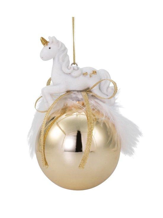 Weiste - Unicorn Baubles -joulukoriste 65 mm - GOLD | Stockmann - photo 1