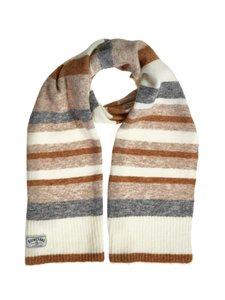 Boomerang - Fluff Striped -huivi - 097 DK GREY MELANGE | Stockmann