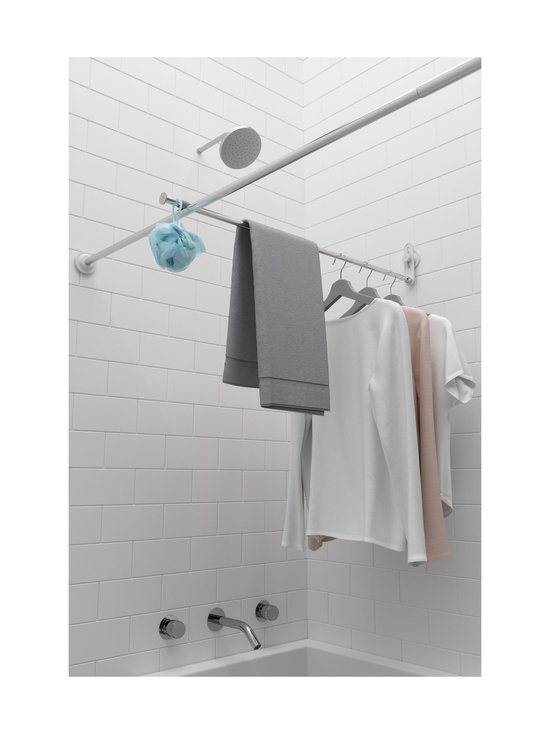 Umbra - Surelock Tension Shower Rod -suihkuverhotanko - CHROME | Stockmann - photo 8