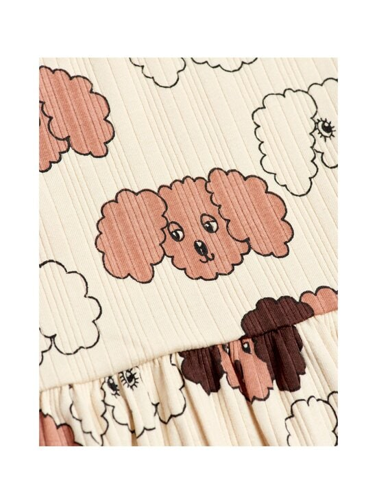 Mini Rodini - Fluffy Dog -mekko - BEIGE | Stockmann - photo 3