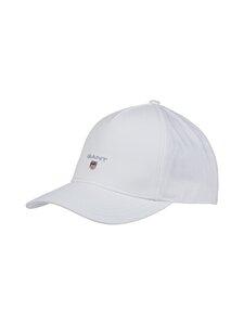 GANT - Original Shield Cap -lippalakki - 110 WHITE | Stockmann
