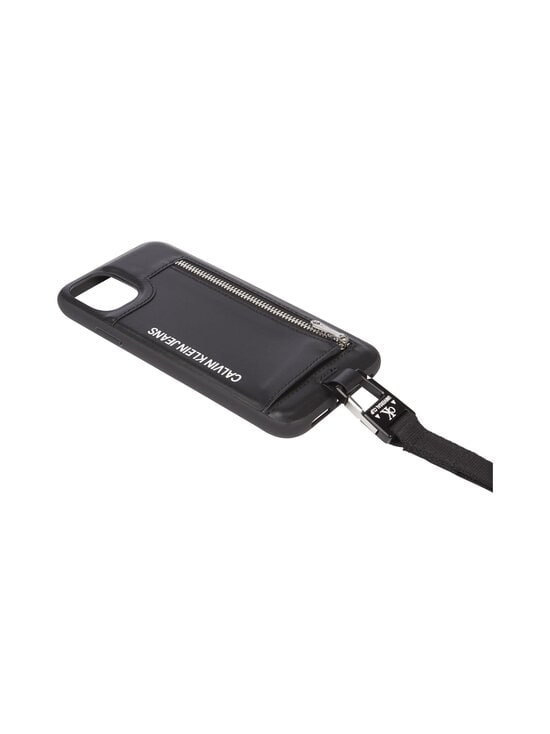 Calvin Klein Bags & Accessories - Leather Lanyard iPhone Case -suojakotelo - BDS BLACK | Stockmann - photo 2