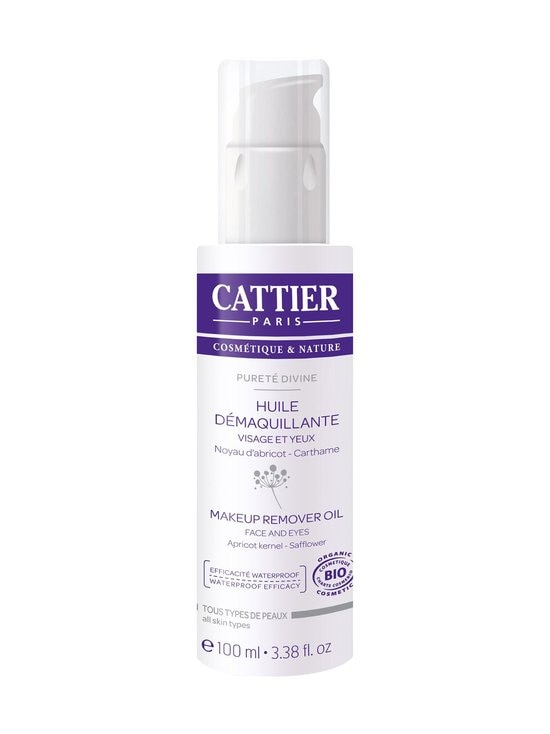 Cattier Paris - Pureté Divine - Makeup Remover Oil -meikinpuhdistusöljy 100 ml   Stockmann - photo 1