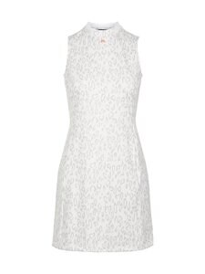 J.Lindeberg - Nena Print Golf Dress -mekko - U198 ANIMAL GREY WHITE | Stockmann