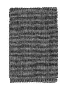 Dixie - Juuttikynnysmatto 90 x 60 cm - LEAD GREY (HARMAA) | Stockmann