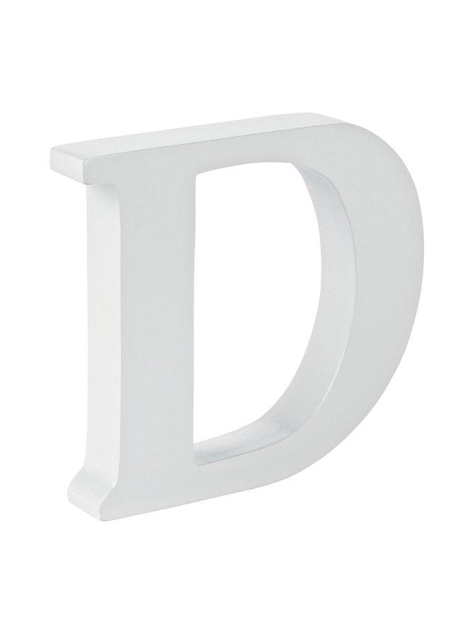 Puukirjain D