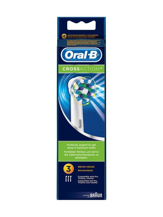 Oral-B - CrossAction-harjaspää 3 kpl - null | Stockmann - photo 1