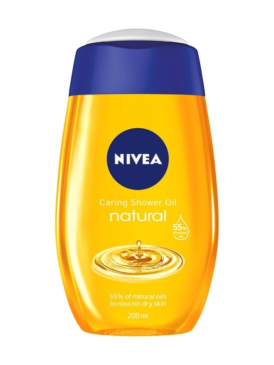 NIVEA - Natural Oil Caring Shower Oil -suihkuöljy 200 ml - null | Stockmann - photo 1