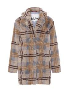 Molo - Haili 6404 Check Fur -tekoturkistakki - 6404 CHECK FUR | Stockmann