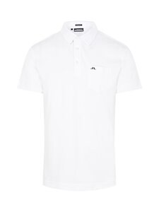 J.Lindeberg - Rayan Regular Fit Golf Polo -pikeepaita - 0000 WHITE | Stockmann