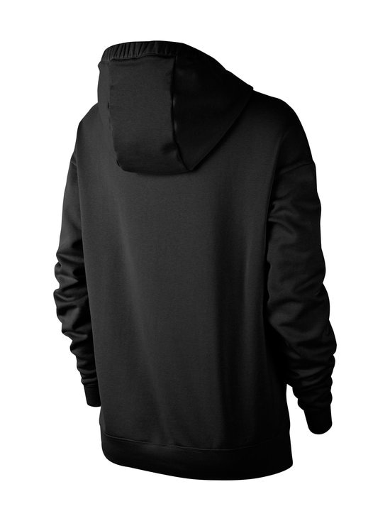 Nike - W Sportswear Swoosh Hoodie -huppari - 010 BLACK/WHITE   Stockmann - photo 2