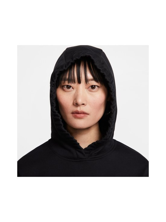 Nike - W Sportswear Swoosh Hoodie -huppari - 010 BLACK/WHITE | Stockmann - photo 6