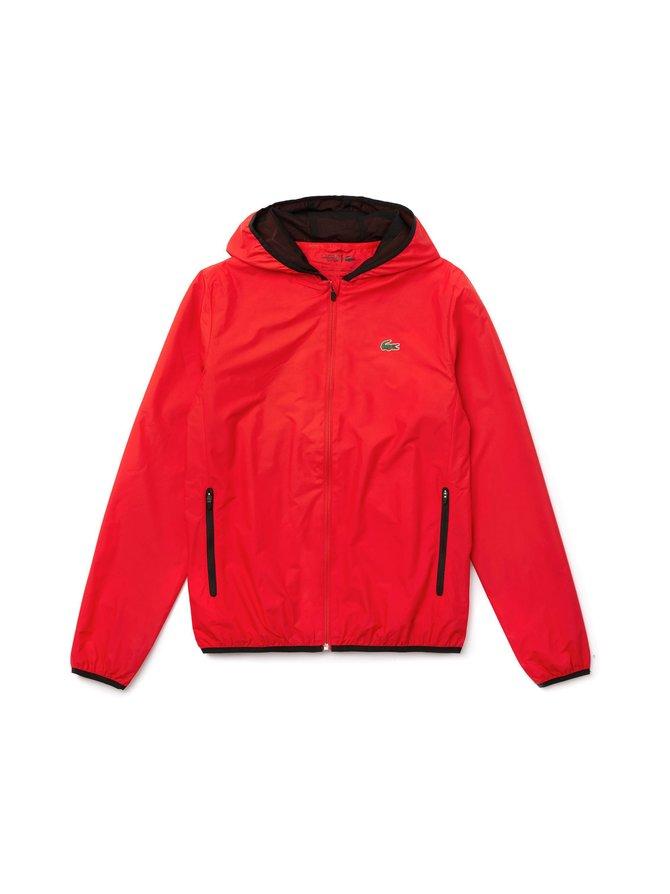 Foldable Hooded Zip Jacket -takki