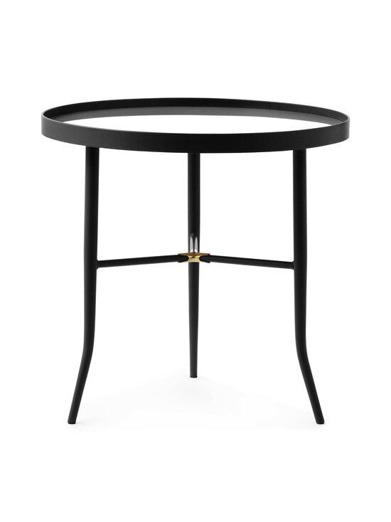 Normann Copenhagen - Lug Table Small -pöytä 49 x ⌀ 50 cm - BLACK | Stockmann - photo 1