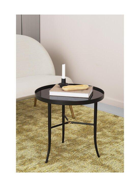 Normann Copenhagen - Lug Table Small -pöytä 49 x ⌀ 50 cm - BLACK | Stockmann - photo 2