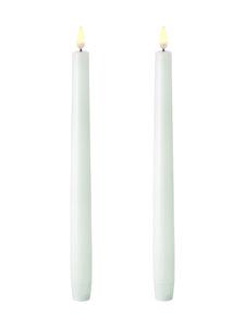 UYUNI - Taper LED -kynttilä, 2 kpl - NORDIC WHITE | Stockmann