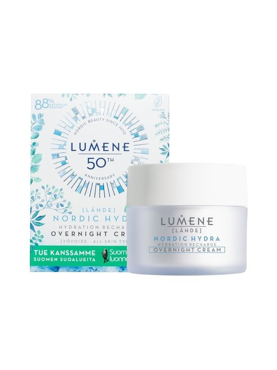 Lumene - LÄHDE Limited Edition Hydration Recharge Overnight Cream -yövoide 50 ml - NOCOL   Stockmann - photo 1